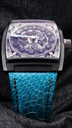 A perfect colour combo. How would your bespoke watch look like? Challenge The Status Quo, Mechanical Art, Colour Combo, Vaulting, Bespoke, Steel, Watch, Black, Clock