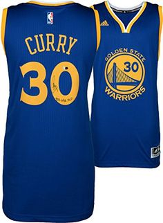 Stephen Curry Golden State Warriors Autographed Blue Swingman Jersey with B2B NBA MVP Inscription - Fanatics Authentic Certified ** You can get additional details at the image link.