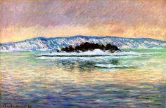 The Fjord, near Christiania Claude Monet - 1895