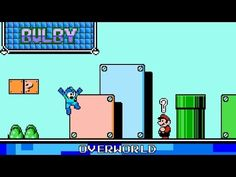 Overworld 8 Bit - Super Mario 3D Land - YouTube Super Mario 3d, 8 Bit, Facebook, Youtube