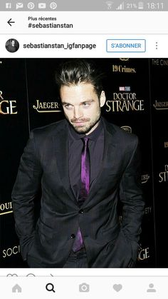 Love the color of his tie
