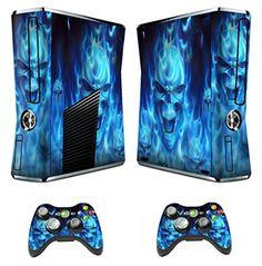 GameXcel ® Xbox 360 Skin Sticker Custom Cover Case Set Decal Xbox360 Slim Modded…