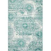 Found it at Wayfair - Ford Turquoise Area Rug