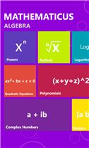 Don't spend time to write down math formulas ever again! Mathematicus is the source of all math formulas you may need, covering 26 important topics. It displays data in a beautiful and interactive interface, making it easier to access and read.