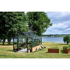 Premium 13,0m2 |Modulsokkel Gazebo, Outdoor Structures, Instagram, Kiosk, Pavilion, Cabana