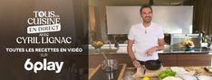 Les recettes de l'émission Tous en cuisine de Cyril Lignac Pampered Chef, Naan, Mini Burgers, Burger Buns, Chicken Recipes, Cooking, Kitchen, Table, Food