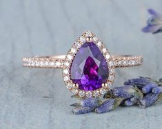 HANDMADE RINGS & BRIDAL SETS by MoissaniteRings on Etsy Amethyst, Sapphire, Bridal Ring Sets, Handmade Rings, Heart Ring, Etsy Seller, Trending Outfits, Merry, Unique Jewelry