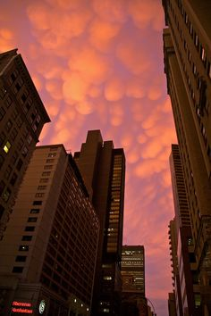 Mammatus clouds over Manhattan Copyright: Nikos Bournas