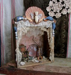 Hey, I found this really awesome Fairy stage playhouse at Etsy listing at https://www.etsy.com/listing/103345638/fae-theatre-shadow-box