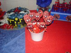 Mascara do Homem Aranha (Pasta de Leite)