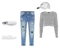 """""""simple"""" by alexa-barnes on Polyvore featuring rag & bone, NIKE, Vans, women's clothing, women's fashion, women, female, woman, misses and juniors"""