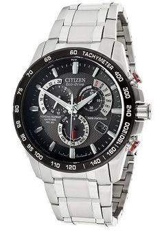 Citizen Men's Eco-Drive Stainless Steel Watch with Gray Dial Citizen Top watches men Vintage Watches For Men, Luxury Watches For Men, Citizen Eco, Fine Watches, Cool Watches, Men's Watches, Patek Philippe, Nautilus, Affordable Watches
