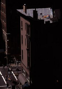 Robert Farber - 'On the Roof, New York, Edition of 10' - Cavalier Galleries, Inc.