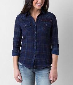 Affliction Black Premium Ella Shirt - Women's Tops | Buckle