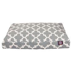 Trellis Indoor/Outdoor Pet Bed in Gray - The Set-for-Summer Pet on Joss & Main
