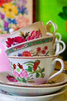 Tea cup collection still in boxes... China on my mind