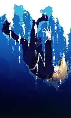 Ed: Falling down by c0ralus.deviantart.com on @deviantART