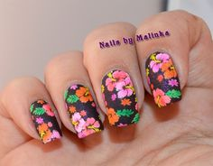 Nails by Malinka: MoYou Pro Collection-13 Hibiscus