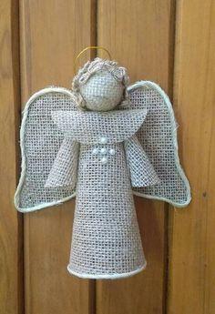 Christmas Goodies, Christmas Angels, Christmas Crafts, Christmas Decorations, Xmas, Christmas Ornaments, Yarn Crafts, Diy And Crafts, Crochet Angels