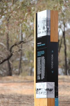 Central Goldfields Shire Council - Nuttshell - #totem #wood