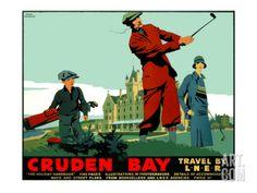 Cruden Bay Giclee Print by Frank Newbould at Art.com