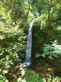 Cascadas en la ruta del rio Alba