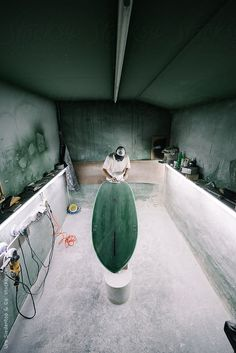 Surfboard production by Urs Siedentop & Co