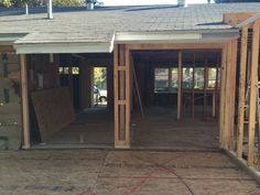 View from future Screened Porch to exterior doors from Foyer/Dining