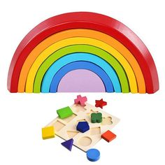 Toys & Hobbies Funny Models Baby Wooden Solid Stacking Toddler Block Toys Train Building Blocks Building Toy Educational Kids Children Gifts Meticulous Dyeing Processes Model Building Kits