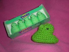 Classic Peeps free #crochet pattern from Schmutzerella