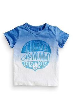 Buy Mummy Printed T-Shirt (3mths-6yrs) from the Next UK online shop