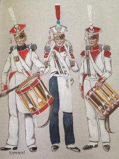 Duchy of Warsaw;3rd, 5th & 6th Infantry Regiments, Drummers
