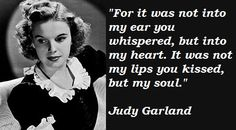 judly garland quote - Google Search
