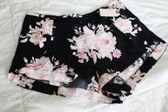 #fashion #style #shorts #black #floraldesign #pink  #trend #cool #best #beautiful #girl #women #fashionable #trendy #stylish #chic