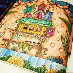 #magicaljungle #johannabasford #boracolorirtop #colorindolivrostop #divasdasartes #coloringforadults #coloring #coloringbook