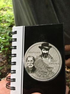 The standard log book found in all the caches on the Hatfield McCoy GeoTrail. A must do for all geocachers.