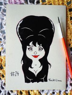 Elvira a Rainha das Trevas ;)