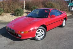 1991 Toyota MR2 2.0 GT Coupe 6,000 miles, 1 Owner, Petrol, Manual, Crimson Red at www.woldsideclasssics.co.uk