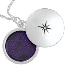 Necronomicon - Gateway Void Symbol Silver Talisman