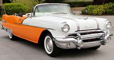 There was new styling for including newly styled interiors, new rear fender ornaments, hood ornament, grille and bumpers. Boss Wheels, Convertible, Pontiac Star Chief, Pontiac Cars, Gm Car, American Classic Cars, Oldsmobile Cutlass, Vintage Cars, Vintage Auto