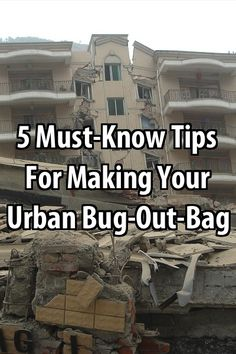 Bugging out in an urban locale presents its own set of unique survival considerations. Here are the top five urban survival considerations.
