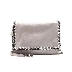 Check out this Stella McCartney Falabella flap shoulder bag - Grey on HushHush. It's 26% off.