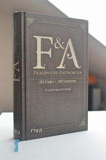 Buch-Review: F&A Fragen und Antworten - das außergewöhnliche Tagebuch!