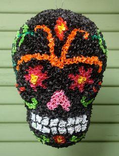 Day of the Dead Pinata   El Piñatero - Sugar Skull Day of the Dead Piñatas