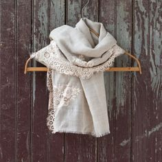 Dentelle Scarf in Spa+Accessories ACCESSORIES Hats, Scarves, Socks at Terrain