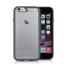 iPhone 6 Case, Tech Armor iPhone 6 Case, 4.7 inch - FlexProtect Air Space Grey/Clear Fingerprint Resistant Scratch Resistant Lifetime Warranty - http://www.rekomande.com/iphone-6-case-tech-armor-iphone-6-case-4-7-inch-flexprotect-air-space-greyclear-fingerprint-resistant-scratch-resistant-lifetime-warranty/