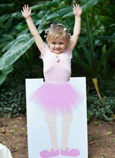 Genial para que las pequeñas se tomen fotos.