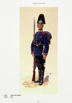 German; Guard Pioneer Battalion, Private. Raised 1810. home Depot Berlin. Guard Corps