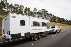 Towing a caravan can be difficult – especially when you're first attempting it – but it needn't be. Caravan, Recreational Vehicles, Camper Van, Campers, Camper Trailers, Single Wide
