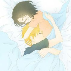 ichiruki cuddle
